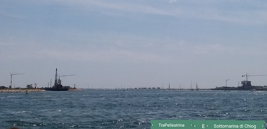 Sottomarina, Italie : Cantiere