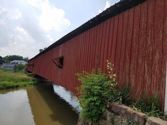 写真Bridgeton Covered Bridge枚