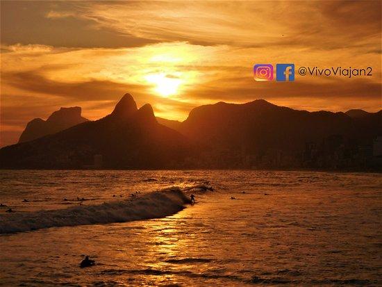 Praia do Arpoador: Puesta de Sol desde Arpoador