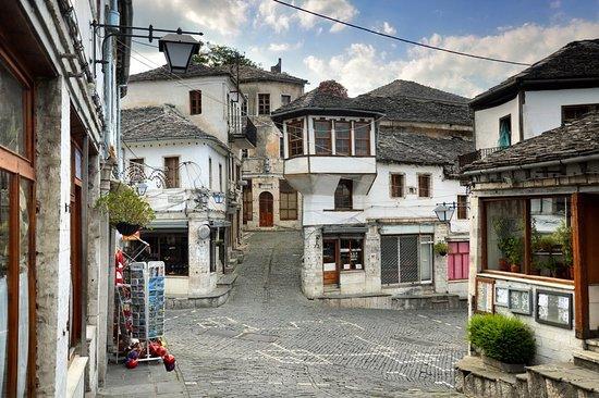 Butrint, a village in Albania