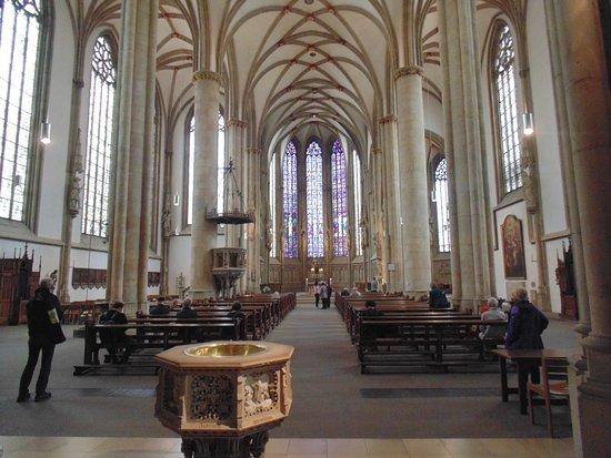 St Lambert's Church: Interior view