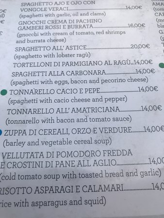 Menu Picture Of Royal Art Cafe Rome Tripadvisor