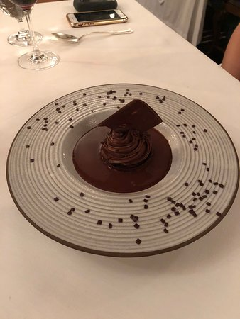 "Itaipu Restaurant: Chocolate ""four ways"" dessert"