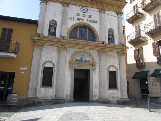 Verbania, Italie: facciata chiesa