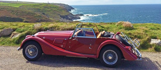 ‪‪Truro‬, UK: Morgan 2 Seater near Pendeen Watch in the far West ‬