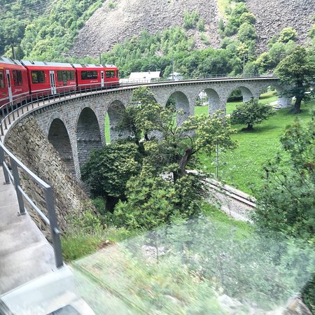 Bernina Express – fénykép