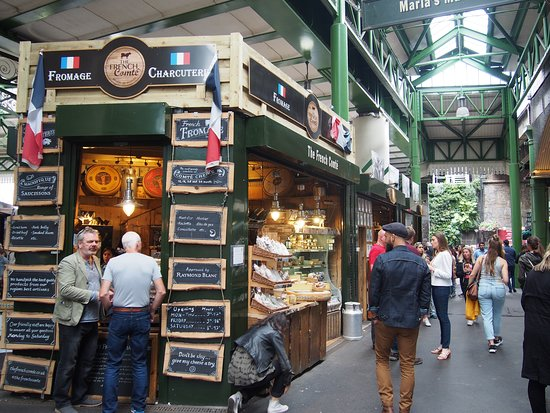 Borough Market: Stánek se sýry