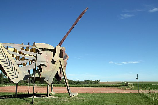 Enchanted Highway: Grasshoppers in the Field