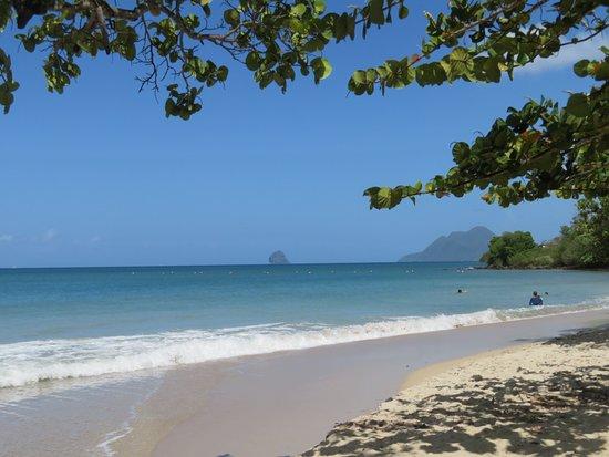 Anse Corps de Garde: La plage est propre