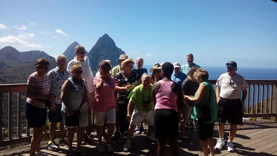 Vieux Fort, Saint Lucia: Island Touring