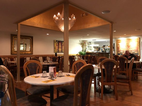 Tongtara Thai Restaurant: This is inside the restaurant, nice and cosy