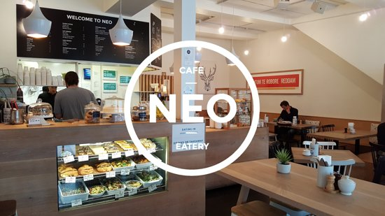Neo Cafe & Eatery: Neo has a clean modern aesthetic which offers a relaxed environment to our inner-city clientele