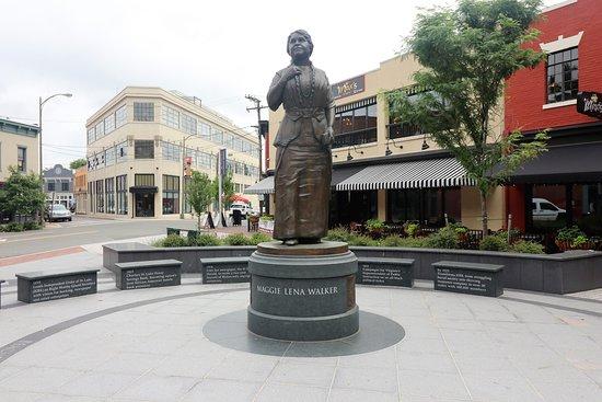 Maggie Lena Walker Statue