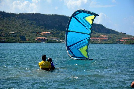 Kiteboarding Curacao