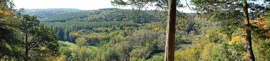 Harpers Ferry, IA: Scenic Overlook at Yellow River State Forest