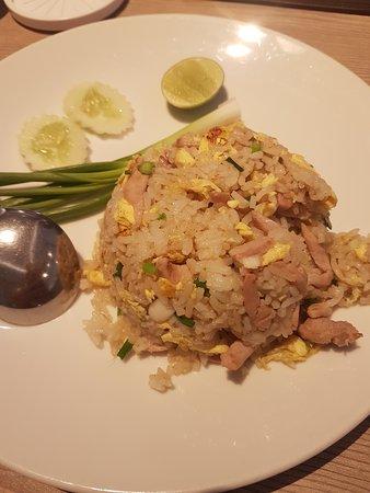 Not so good Thai food.