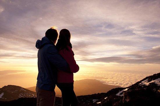 Mt. Teide - Führung bei Sonnenuntergang...