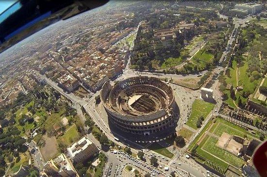 Recorrido en helicóptero sobre Roma y...