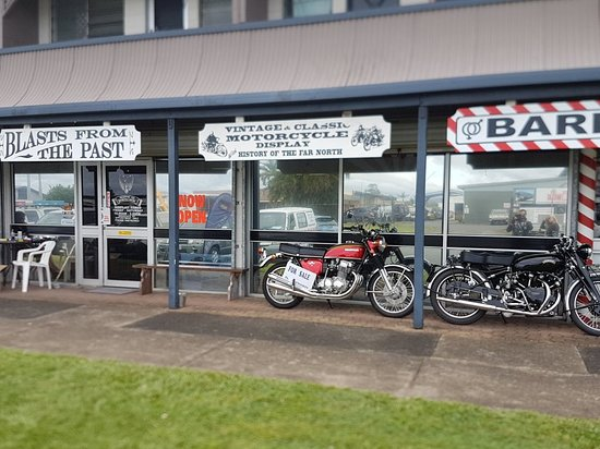 BLAST from the PAST Motorbike Museum