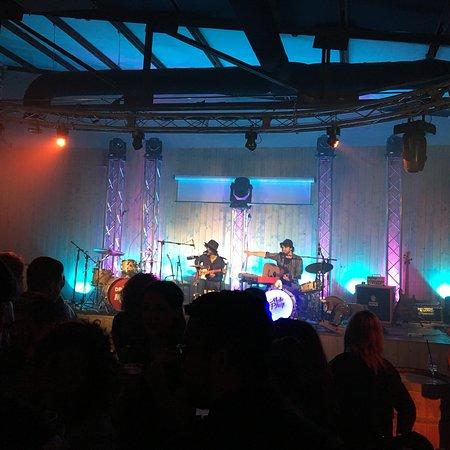 Rancate, Suisse: La sala sul retro per feste e concerti