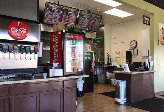 Mission Viejo, CA: Ordering counter