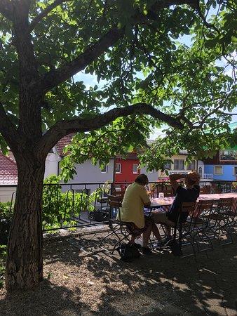 Kopfing im Innkreis, Austria: Impression aus dem Gastgarten