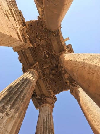 巴勒贝克寺庙照片