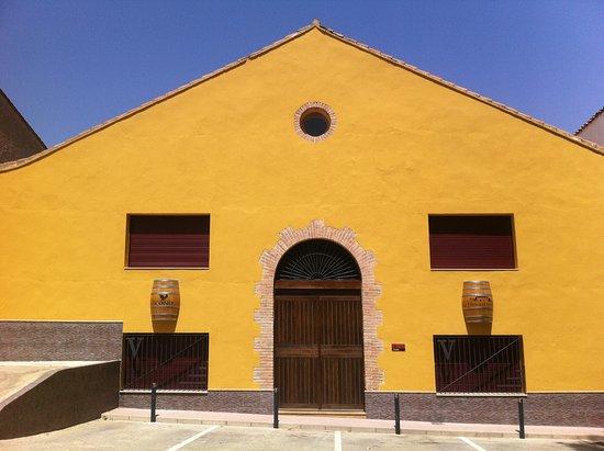 La Font de la Figuera, Испания: Fachada de la Bodega