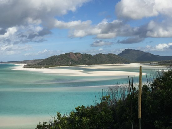 Whitehaven Beach and Hill Inlet Lookout Full-Day Snorkeling Cruise by High-Speed Catamaran: Hill Inlet