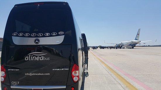 Coslada, Испания: Traslados al aeropuerto. Te llevamos o recogemos del aeropuerto con la máxima comodidad.