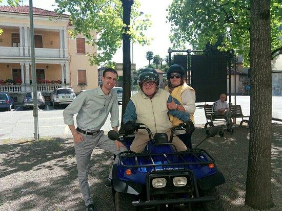 A Masserano con il direttore del museo Dott. Stefano Cavaliere