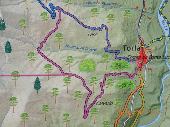 Parque Nacional Ordesa Y Monte Perdido : Walk Map