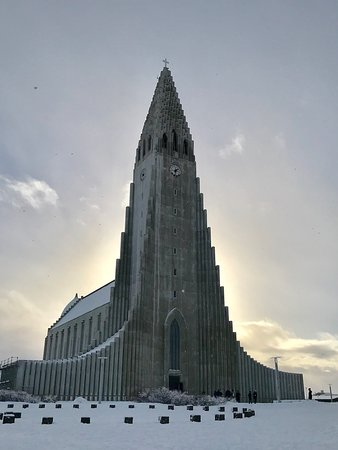 North Iceland, Island: A vist to the top of Hallgrimskirkja Church will reward you views from almost any point in Reykj