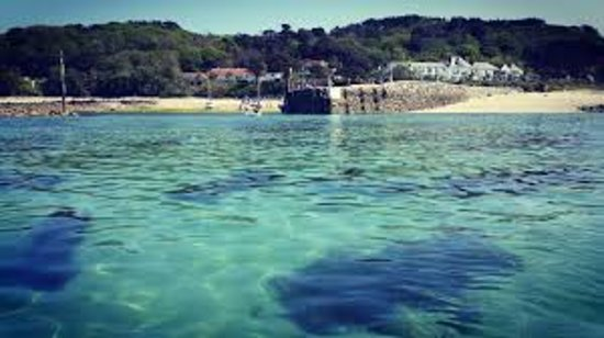 St Peter Port, UK: Herm Island, Bailiwick of Guernsey
