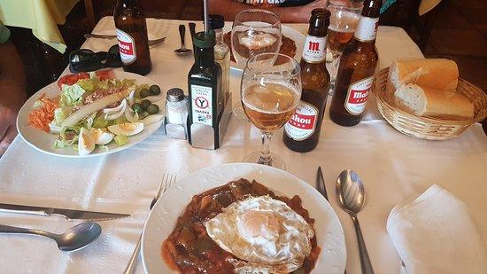 La Guardia, Spania: Meson-Restaurante El Madero
