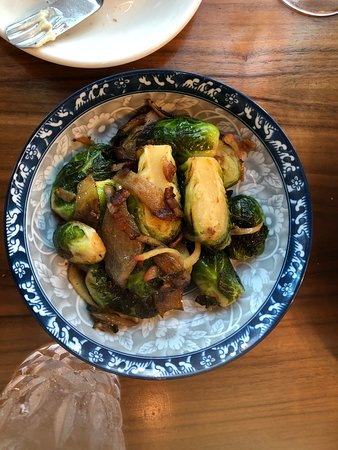 15 Church Restaurant: Brussel Sprouts side dish