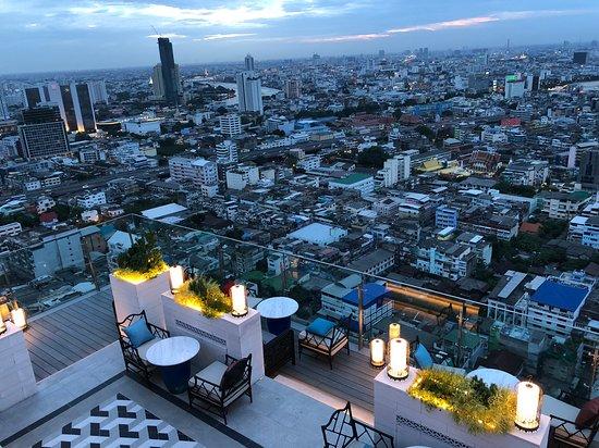 Bangkok Marriott Hotel The Surawongse: Rooftop Bar
