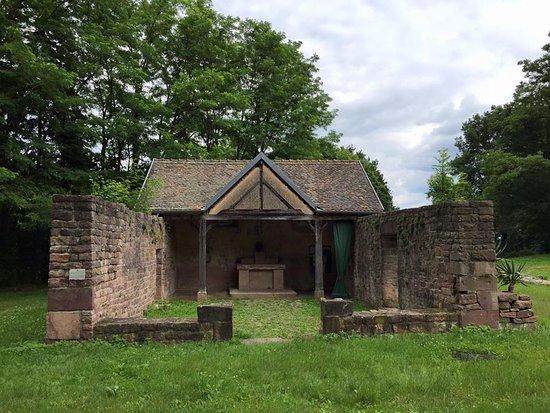 Pfaffenheim, Pháp: Vue de la Chapelle Saint léonard