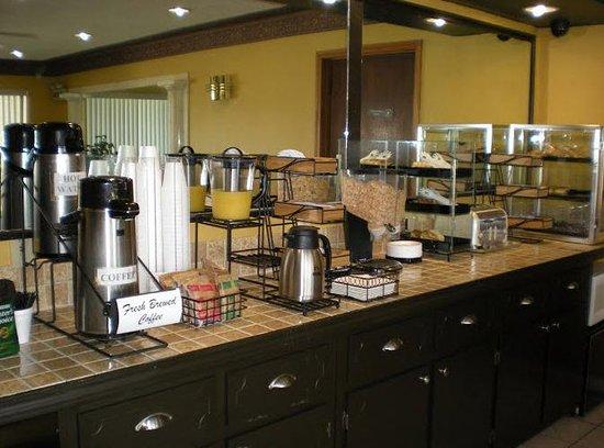 Winona, Mississippi: Breakfast Area