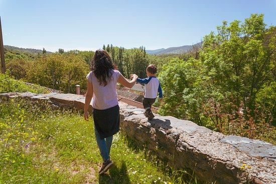 San Martin de los Herreros, Spanje: De paseo por el pueblo