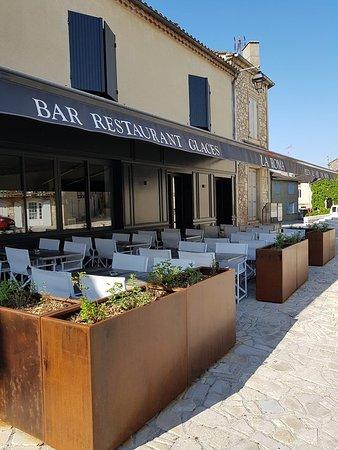 Villereal, Francja: Voici notre terrasse