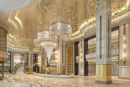 Dushan County, China: Lobby