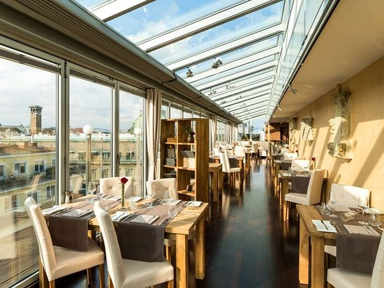 Hotel Royal: Restaurant Settimo Cielo