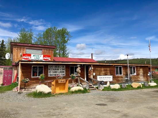 Gakona, AK: Exterior Roadhouse