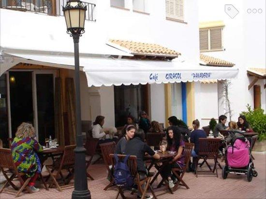 San Carlos, Spain: Café Girasol