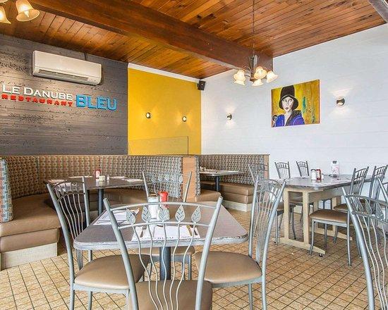Forestville, Kanada: Hotel restaurant