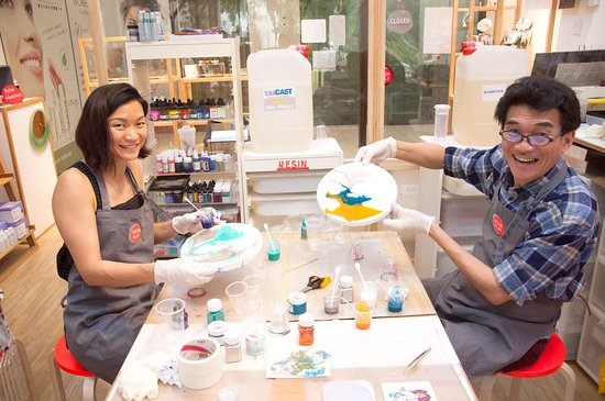 Join us for resin art workshops - Picture of Resin Play