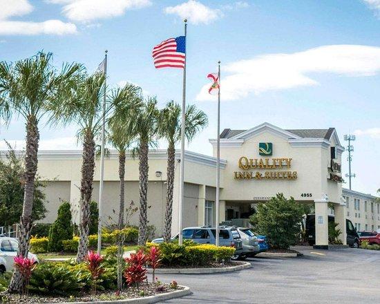 Quality Inn & Suites Near Fairgrounds Ybor City Hotel
