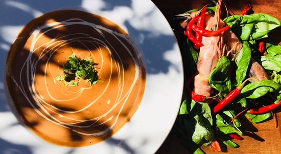 The Hub Cafe: Seafood Bisque
