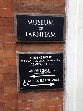 Museum of Farnham: Information